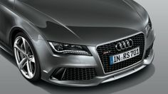 The RS 7 front bumper contains a splitter, which channels air to the intake vents and under the vehicle, assisting engine cooling and aerodynamics. Find more #Audis at www.carsquare.com #germanauto #european #auto #RS7