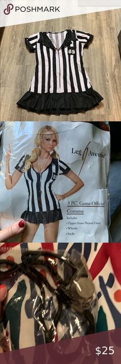 Referee Halloween costume | Fashion, Nike socks, Active wear