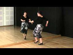 Técnica de baile, nivel intermedio: Secuencia para el trabajo de precisión - YouTube