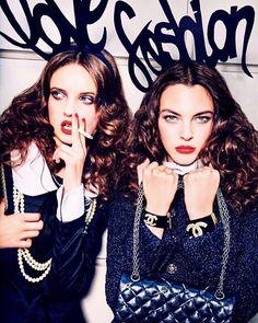 #AnnaGrostina http://www.fashionmodel.it/it/donne/anna-grostina on @voguejapan photo by @ellenvonunwerth stylist Alice Gentilucci #Vogue #VogueJapan #Fashion #FashionModel #Model #Models #TheFashionModelManagement