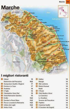 Vini di confine: Ristoranti d'Italia 2015 L'Espresso, regione Marche. #wine #destinazionemarche