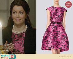 Carolina Herrera Spring/Summer 2014 Dress worn by Bellamy Young on Scandal