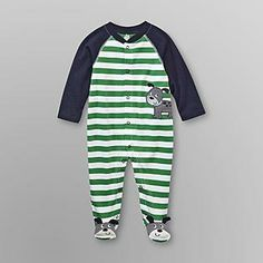 Small Wonders- -Infant Boy's Sleeper Pajamas - Puppy
