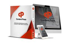 ContentPress Is A WP Plugin That Generates Unlimited, Quality Content & Info-Products Totally Hands-Free With Built-in Traffic Generators! Content Marketing, Digital Marketing, Software, Ebooks Pdf, Lead Generation, Wordpress, Generators, Hands, Products