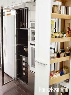 Kitchen of the Month, October 2012, Pull-Out Pantry