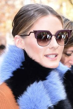 edb6ce4c78c4 Olivia Palermo is seen arriving at Miu Miu show during Paris Fashion Week  Womenswear Spring