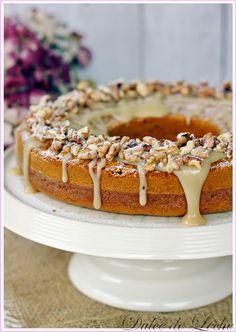 Dulce de Leche: Tekvicový koláč s polevou z javorového sirupu a orechov Tiramisu, Waffles, Biscuits, Pie, Pudding, Sweets, Breakfast, Ethnic Recipes, Dulce De Leche