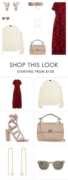 """""""Sexy Spring Attire"""" by s-thinks ❤ liked on Polyvore featuring Valentino, Magda Butrym, Gianvito Rossi, Yves Saint Laurent and ootd"""