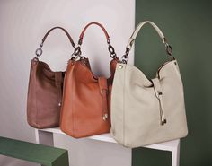 MALDIVE bag by Tosca Blu in tan, orangem beige