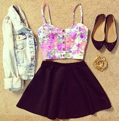 Pretty spring outfit!