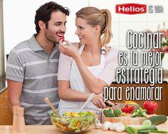 Cocinar es la mejor estrategia para enamorar