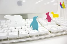 Little critters to keep your keyboard clean. | 31 Insanely Adorable Products That Will Make Your Life Easier