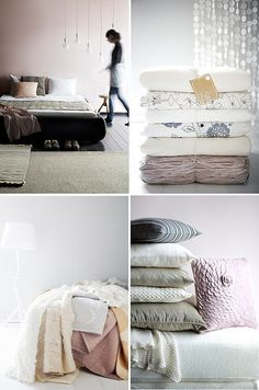 beautiful bed linen by the style files, via Flickr