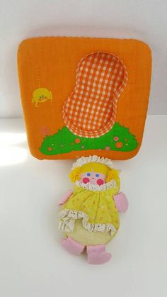 Vintage Fisher Price Miss Muffet Play Pillow Baby Squeaker Toy Doll 12 inch Cushion Squeaky Plush Pu I Am Store, Doll Toys, Dolls, Retro Baby, Vintage Fisher Price, Puzzle Toys, Little Boxes, To My Daughter, Baby Toys