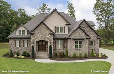 Avery Construction Wins 2019 Pinnacle Award - Avery Construction, LLC has been awarded the South Carolina Home Builders Association 2019 Pinnacle - House Plans One Story, Best House Plans, Dream House Plans, One Story Homes, Dream Houses, House Design Plans, Stone House Plans, Brick House Designs, Nice Houses
