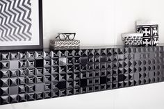 Black & white is always a good idea! Opp! Black Diamond 90x30 cm