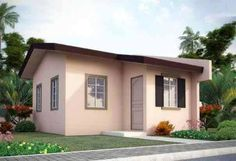Simple design for house simple small house design romantic simple house design in the images of . simple design for house Wood House Design, Simple House Design, Bungalow House Design, Cheap Houses, Fancy Houses, Feng Shui, Apartment Therapy, Porches, Small Cottage Designs