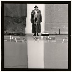 Joseph Beuys by Lothar Wolleh