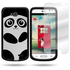 Case for LG Optimus L90 Panda Bear for Taya