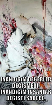 sözler, tarih, moda, teknik bilgi, otomotiv, dekorasyon, sanat, müzik, video: on adet tumblr anlamlı sözler resimli Painting, Painting Art, Paintings, Painted Canvas, Drawings