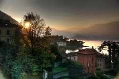 Lake Como branch view from Bellagio road