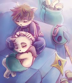 Kennen and Teemo