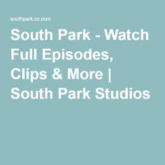 South Park - Watch Full Episodes, Clips & More | South Park Studios