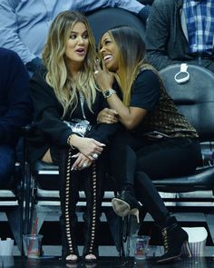 Khloe Kardashian and Malika Haqq at NBA game in LA #wwceleb #ff #instafollow #l4l #TagsForLikes #HashTags #belike #bestoftheday #celebre #celebrities #celebritiesofinstagram #followme #followback #love #instagood #photooftheday #celebritieswelove #celebrity #famous #hollywood #likes #models #picoftheday #star #style #superstar #instago #khloekardashian