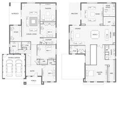 51 Best Reverse Living House Plans images   House plans ...