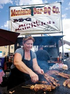 Montana Bar-BQ Co. from Lewistown, MT.