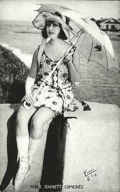 Mack Sennett Bathing Beauties 1914...actress unknown