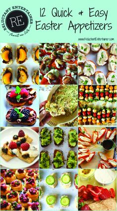 Looking for the perfect Easter appetizer? Here are 12 Quick Easy Easter Appetizers that your guests will love for spring or Easter entertaining! Easter Appetizers, Yummy Appetizers, Appetizer Recipes, Simple Appetizers, Easter Recipes, Brunch Recipes, Holiday Recipes, Quick Recipes, Easter Dinner