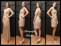 Champagne Mimosa Pink Martini, Prom Dresses, Formal Dresses, Champagne, Collection, Fashion, Moda, Formal Gowns, La Mode