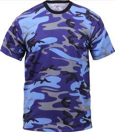 Camo T-Shirt Military Short Sleeve Tee fd68ecfb56