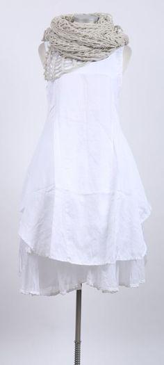 nelly johansson - Kleid DITTE white - Sommer 2015 - stilecht - mode für frauen mit format...