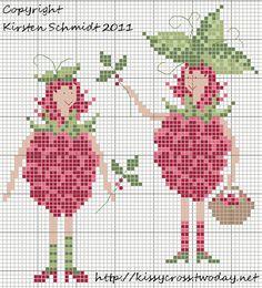 cuisine - kitchen - fruit - point de croix-cross stitch - broderie-embroidery- Blog : http://broderiemimie44.canalblog.com/