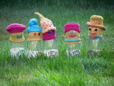 Meet the family: Granny and Grandad, Fred, Alf and Hattie #bigknit