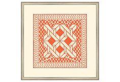 Small Tangerine Tile I by Big Fish OneKingsLane.com