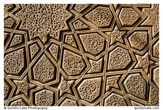Geometrical timber work, The Jameh Mosque of Yazd