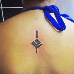 Peruvian tattoo design