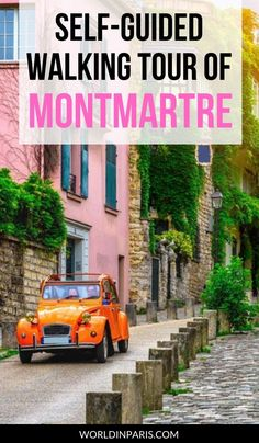 If you have a day to explore Montmartre in Paris, a self-guided walking tour can be a great way to see some of the best sights. We've created a free self-guided walking tour of Montmartre just for you. #montmartre #paris #france