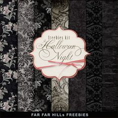 Far Far Hill: New Freebies Kit of Paper - Halloween Night