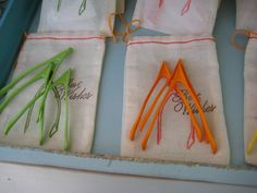 How romantic would it be to leave a wedding with your own bag of wishes? Well you can purchase wishbones in bulk, spraypaint them, and stamp your own bags as a fun DIY project with your bridesmaids.