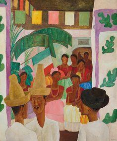 Diego Rivera (1886-1957), The Rivals.