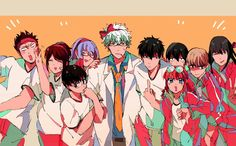 Manga Art, Anime Art, Gintama Funny, Okikagu, Teen Titans, Character Art, Creations, Animation, Illustration