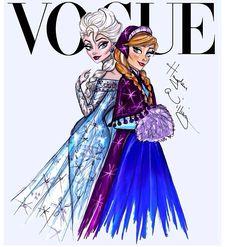 Elsa and Anna Frozen by Hayden Williams