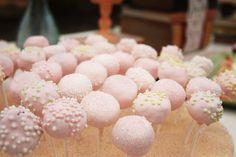 Cake pops---pink!
