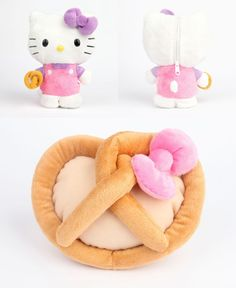 Hello Kitty Reversible Plush from Sanrio Sanrio Hello Kitty, Hello Kitty Plush, Toy Camera, Squishies, My Melody, Kawaii Cute, Plush Dolls, Little Princess, Sewing Projects