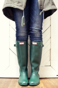 Hunter Boots are great all year round!