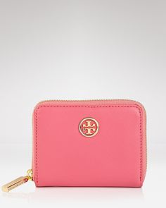 Tory Burch Coin Case - Robinson Zip Close - bloomingdales